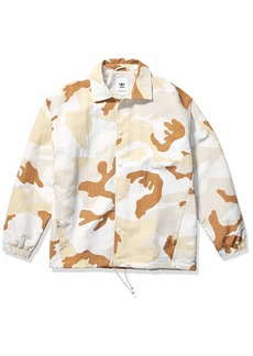 adidas Originals Men's Camo Coaches Jacket multi/clear brown