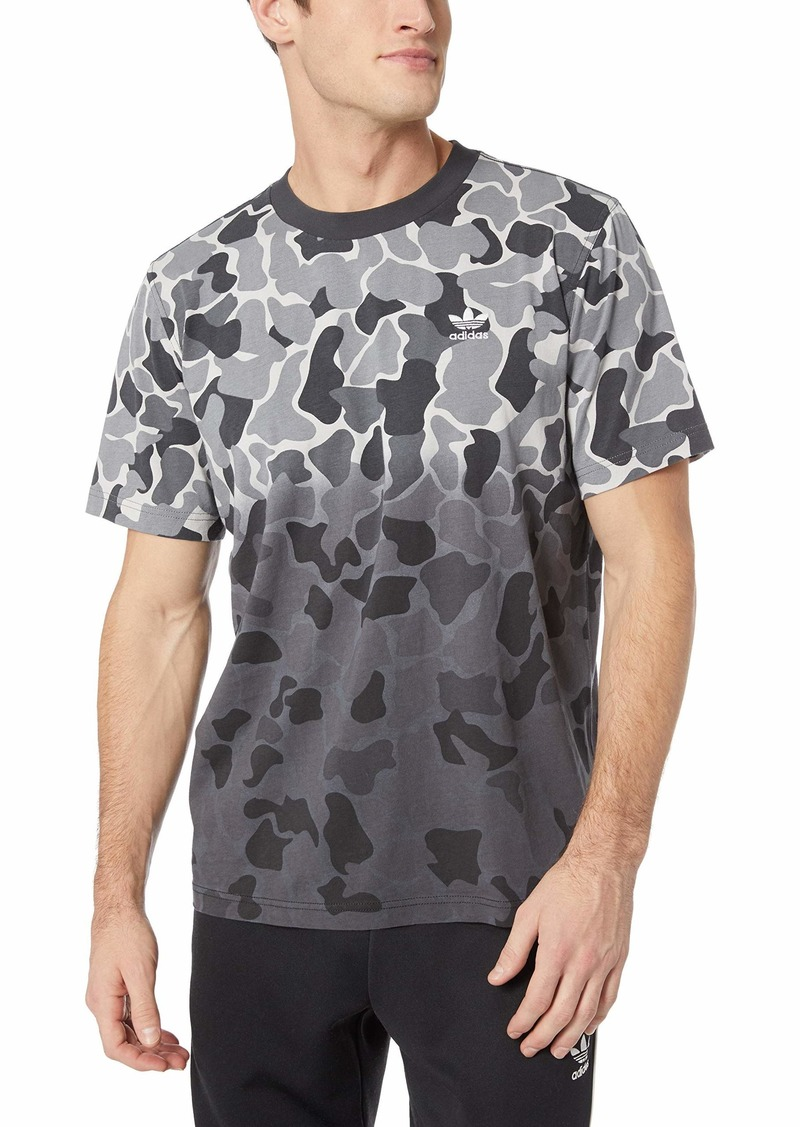 adidas Originals Men's Camo Dipped Tee  L