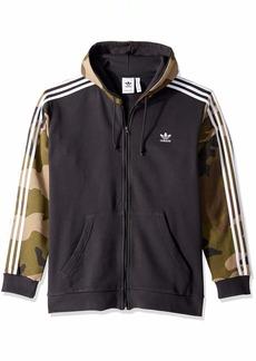 adidas Originals Men's Camo Full-Zip Hoodie
