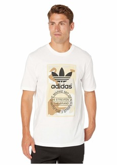 adidas Originals Men's Camo Tee multi/clear brown