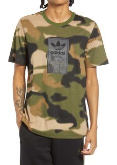 adidas Originals Men's Camo Tongue Label T-Shirt