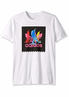 adidas Originals Men's Caruthers Blackbird Tee white