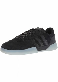 adidas Originals Men's City Cup Skate Shoe Black  M US