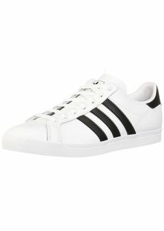 adidas Originals Men's Coast Star Sneaker Black White  Medium US