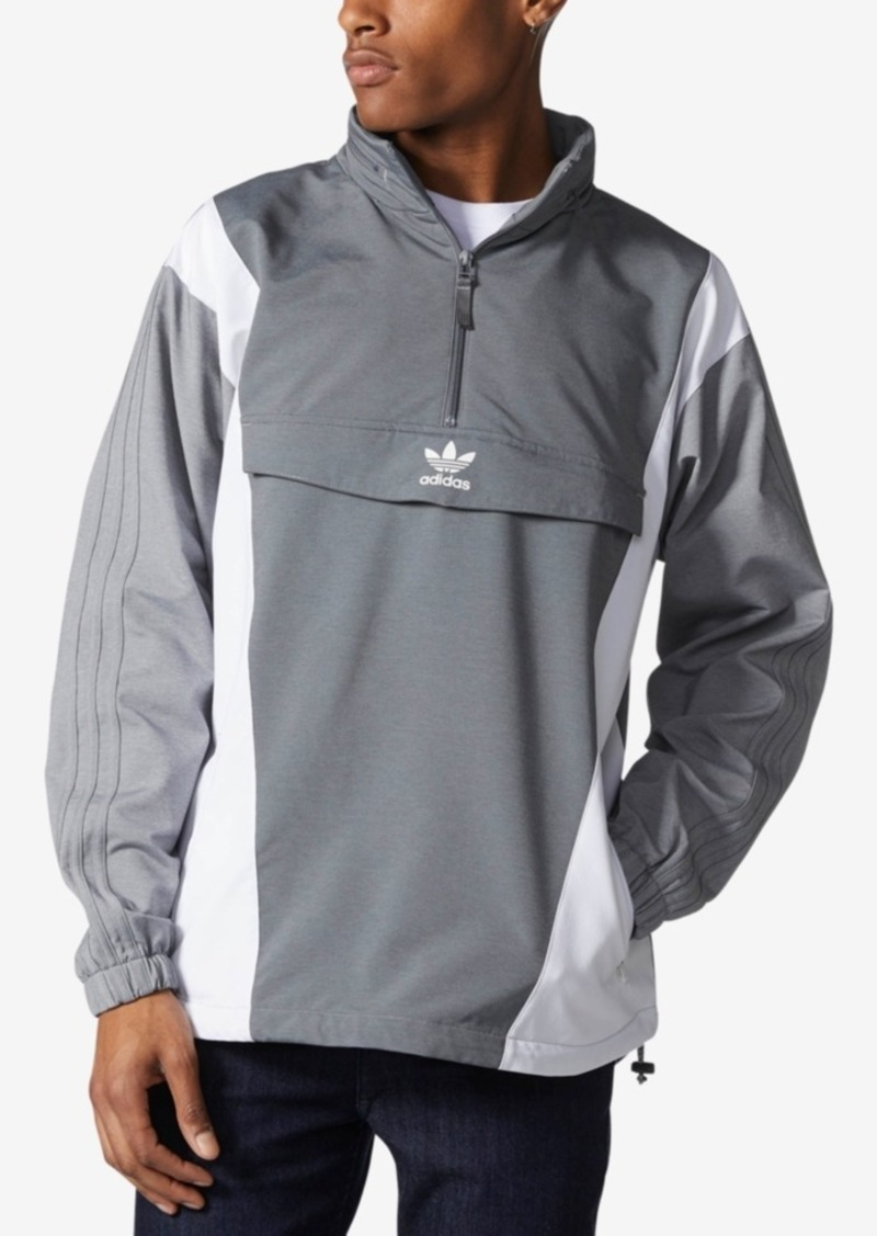 acfdb3f28 Originals Men's Colorblocked Half-Zip Windbreaker
