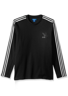 adidas Originals Men's Tops Curated Crew Long Sleeve