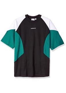 adidas Originals Men's EQT Curved Color Block T-Shirt  L