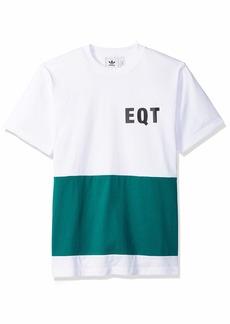 adidas Originals Men's EQT Panel Graphic Tee white S