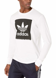adidas Originals Men's Long Sleeve Blackbird Tee