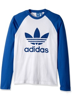 adidas Originals Men's Tops Long Sleeve Trefoil Tee