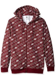 adidas Originals Men's Monogram Full-Zip Hoodie  2XL