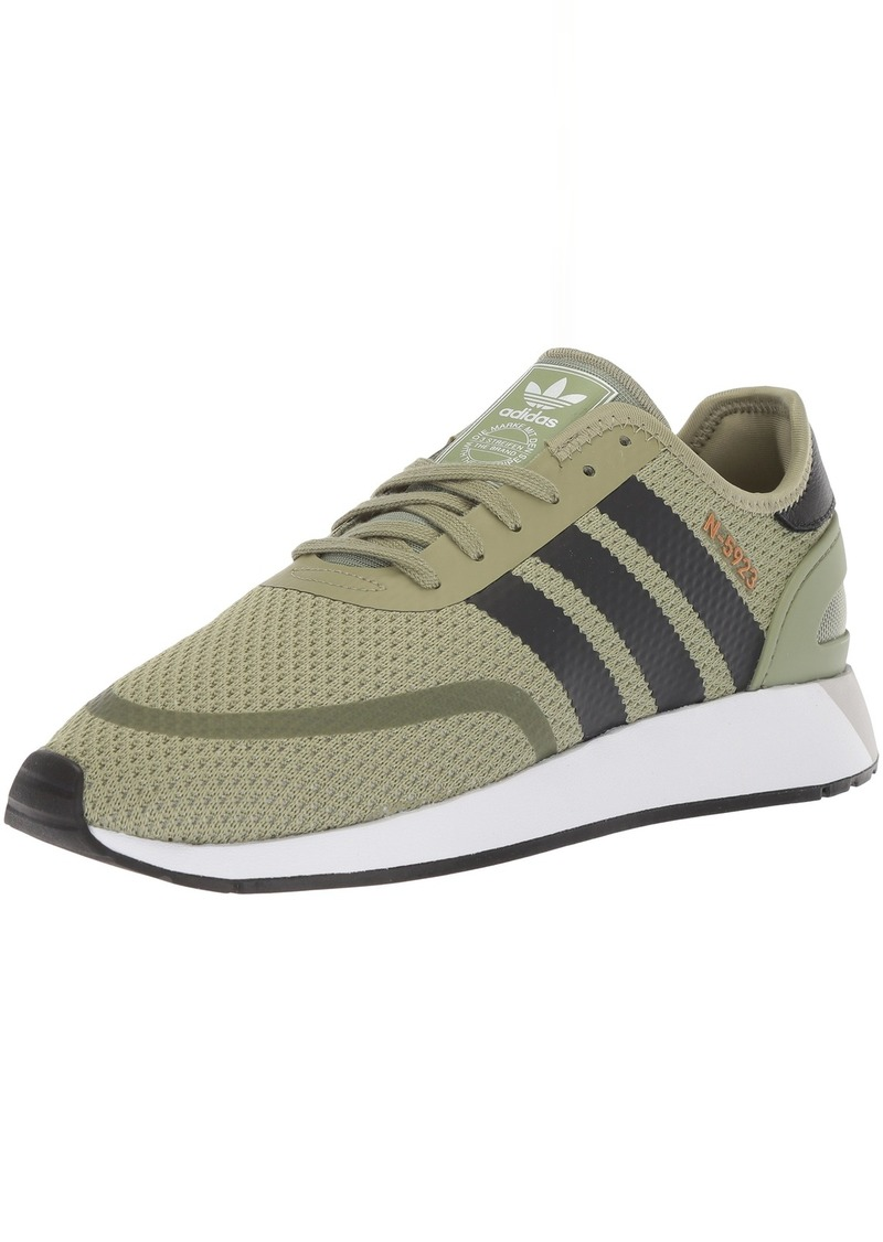 adidas Originals Men's N-5923 Running Shoe Tent Green Carbon FTWR White  M US