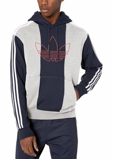 adidas Originals Men's Off Court Trefoil Pant Medium Grey heather/legend Ink