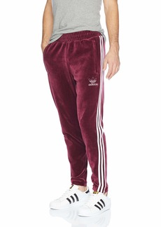 adidas Originals Men's Originals Velour 3-Stripes Trackpants  XL
