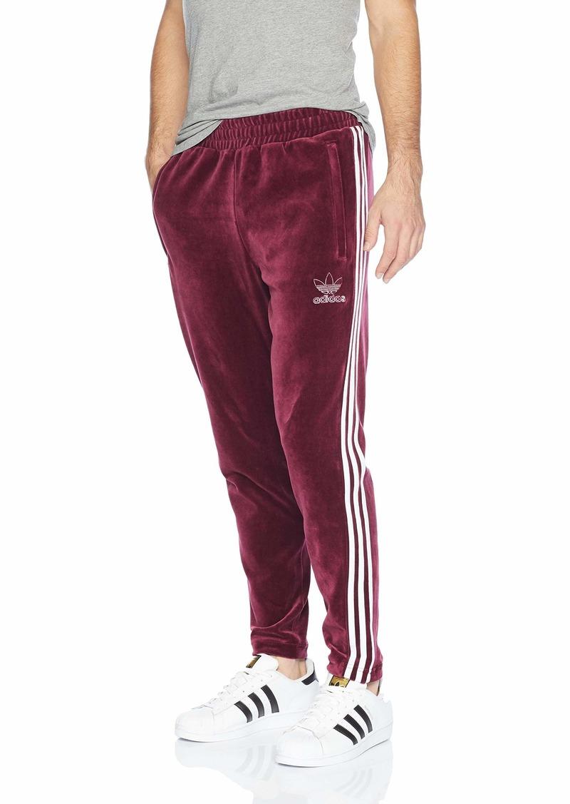 adidas Originals Men's Originals Velour 3-Stripes Trackpants  XL
