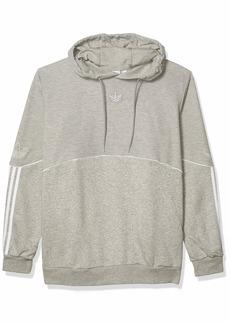 adidas Originals Men's Outline Fleece Hoodie Sweatshirt  XS
