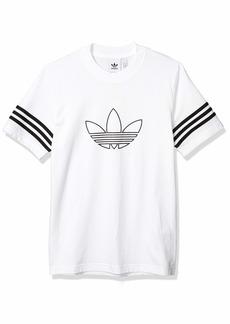 adidas Originals Men's Outline T-Shirt  2XL