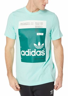 adidas Originals Men's Pantone Tee clear mint 2XL