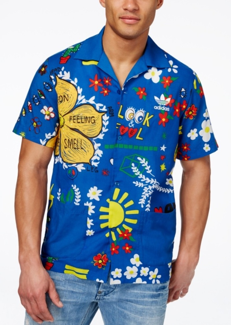 adidas Originals Men's Pharrell Williams Doodle Shirt