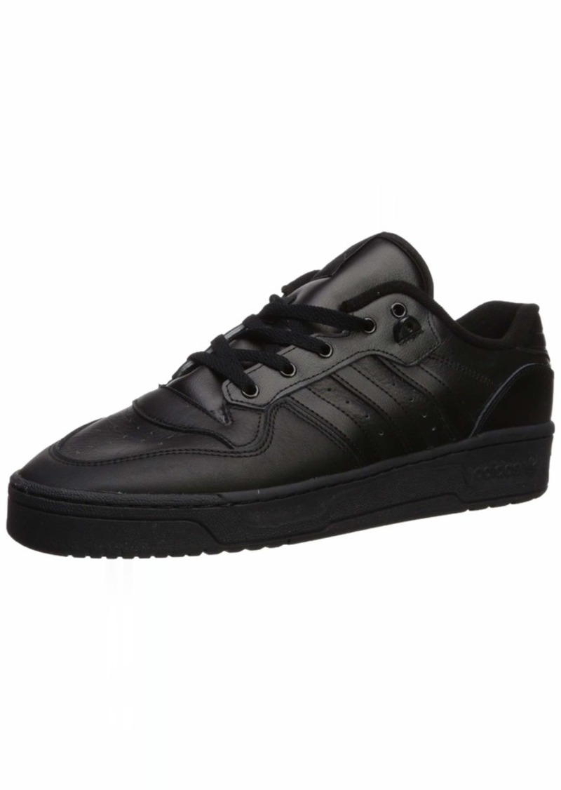 adidas Originals Men's Rivalry Low Sneaker core Black/core Black/FTWR White  M US
