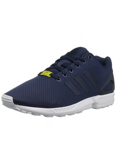 adidas Originals Men's Shoes | ZX Flux Fashion Sneakers Dark Blue/White  D(M) US