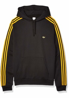 adidas Originals Men's Skate Mini Shmoo Hooded Sweatshirt black/active Gold