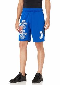 adidas Originals Men's Skate Print Shorts collegiate Royal/active orange/White