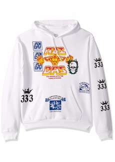 adidas Originals Men's Skate Test Print Hooded Sweatshirt