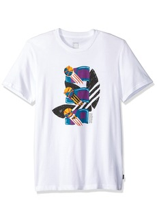 adidas Originals Men's Skateboarding Archival Tee  XL