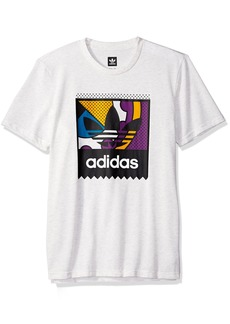 adidas Originals Men's Skateboarding Logo Tee  XS