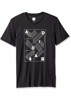 adidas Originals Men's Skateboarding Repetition Tee  2XL