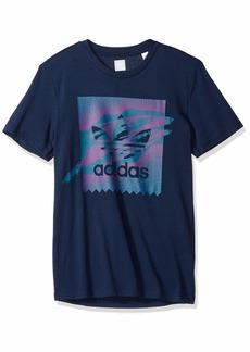 adidas Originals Men's Skateboarding Tennis Blackbird Tee  XS
