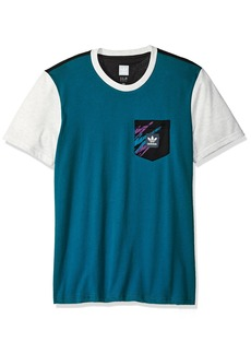 adidas Originals Men's Skateboarding Tennis Pocket Tee  L