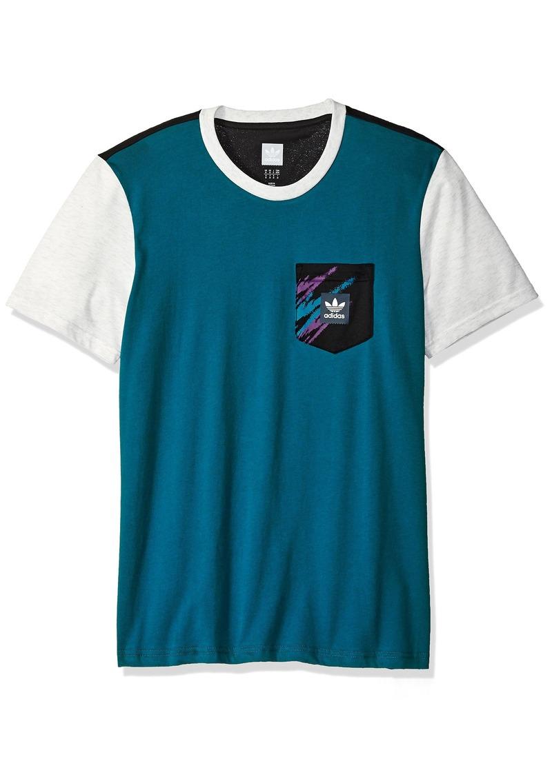adidas Originals Men's Skateboarding Tennis Pocket Tee  L
