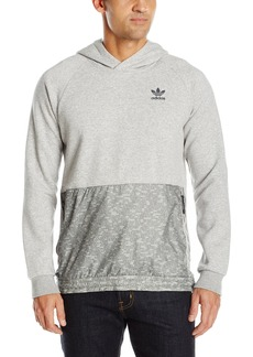 adidas Originals Men's Originals Sport Luxe Mixed Fabric Hoodie  XL