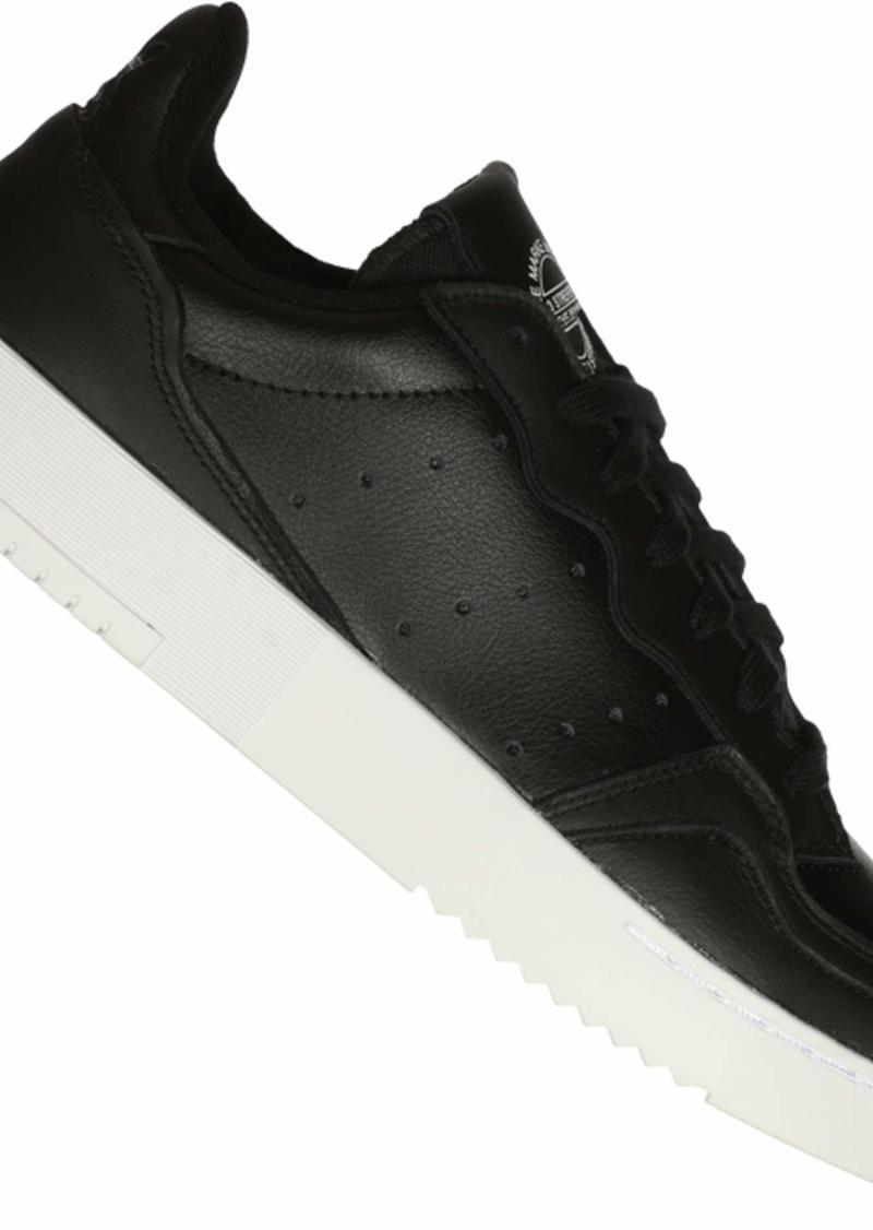 adidas Originals Men's SUPERCOURT Pump core Black/core Black/FTWR White  M US