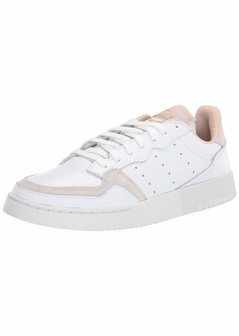 adidas Originals Men's Supercourt Sneaker FTWR White/FTWR White/Crystal White  M US