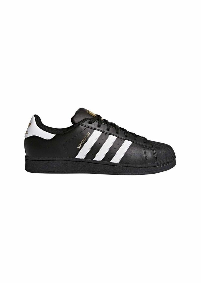 adidas Originals Men's Superstar Shoe Running White/Black