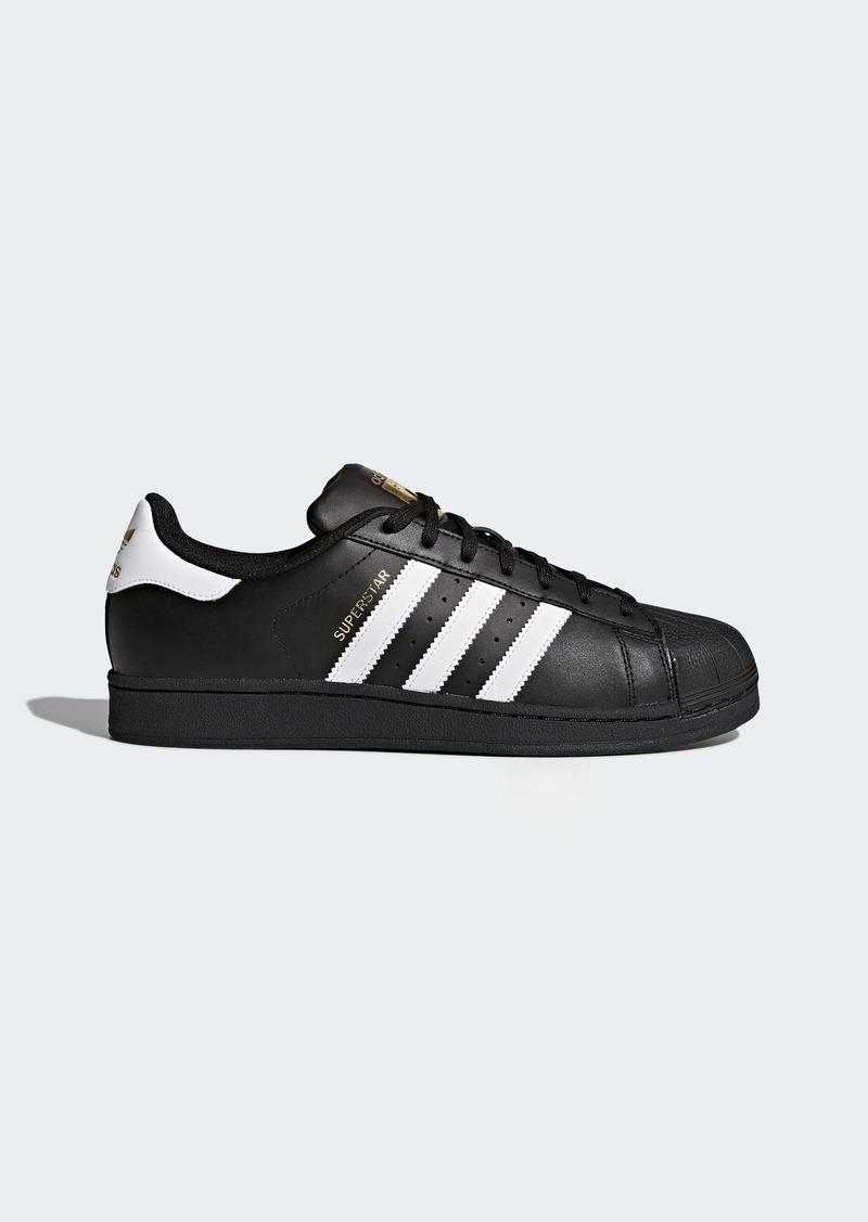 adidas Originals Men's Superstar Shoe Running White/Black