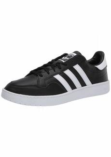 adidas Originals Men's Team Court Sneaker core Black/FTWR White/Grey one  M US