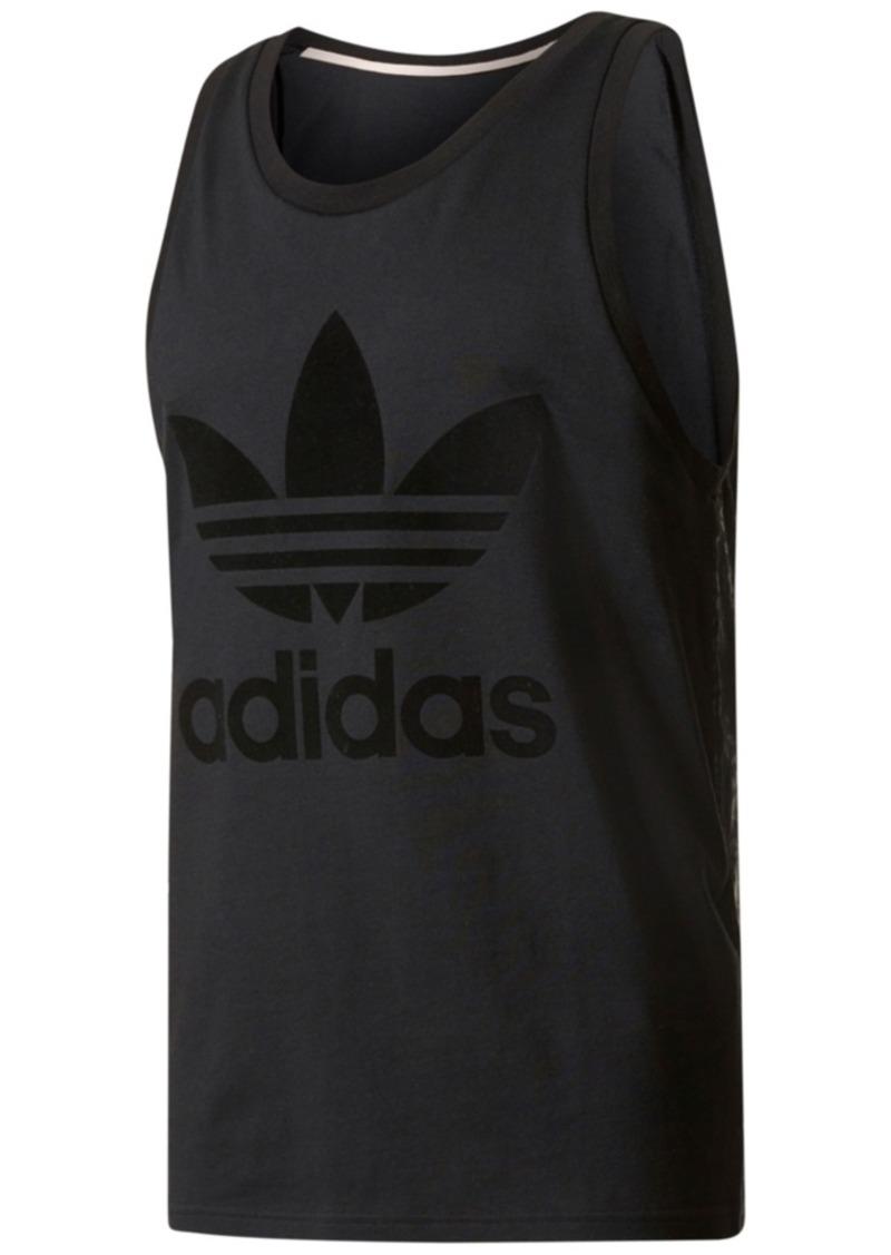 2c5dc8b15be65 Adidas adidas Originals Men s Tonal Cotton Tank Top