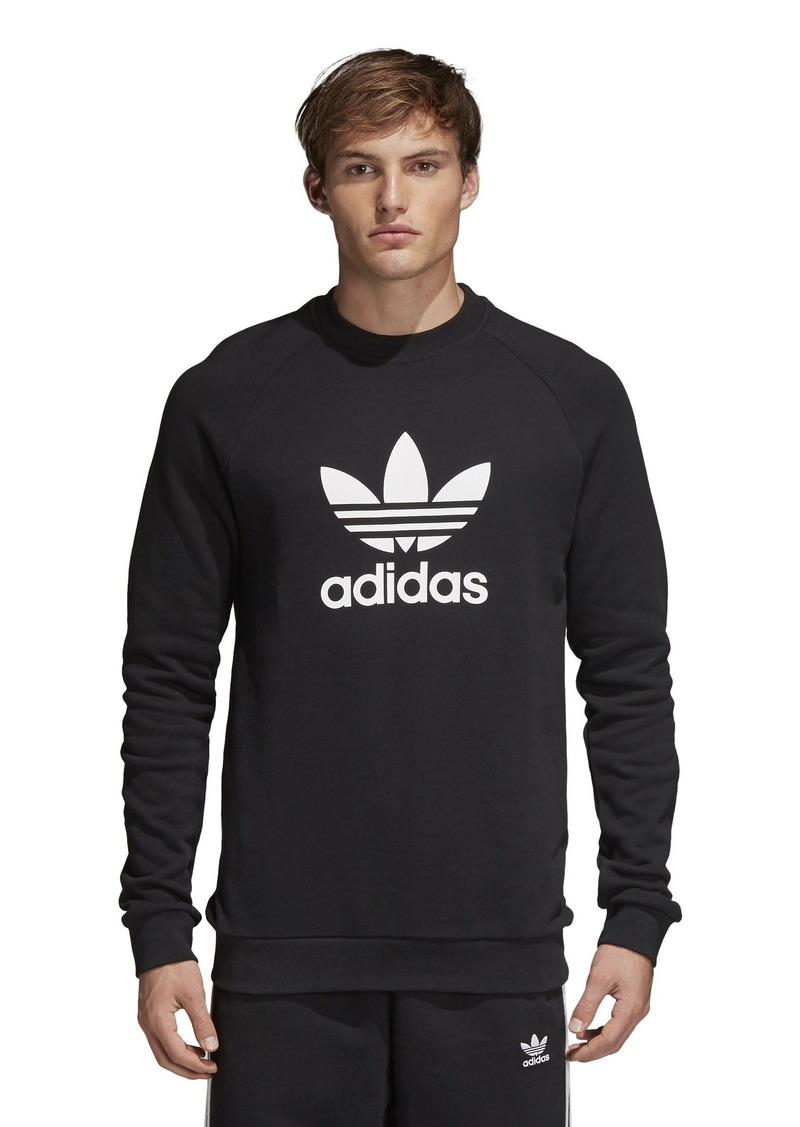 adidas Originals Men's Trefoil-Crew