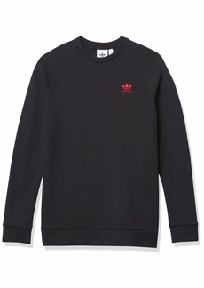 adidas Originals mens Trefoil Essentials Crewneck Sweatshirt
