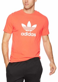 adidas Originals Men's Trefoil Tee Bright red M