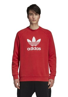 adidas Originals Men's Trefoil Warm-up Crew Collegiate red XL