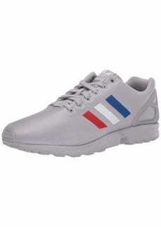 adidas Originals Men's ZX Flux Sneaker Grey/FTWR White/Team Royal Blue  M US