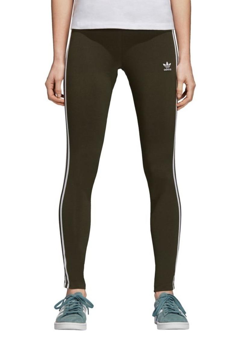 Adidas Originals Mid-Rise Three-Stripes Leggings