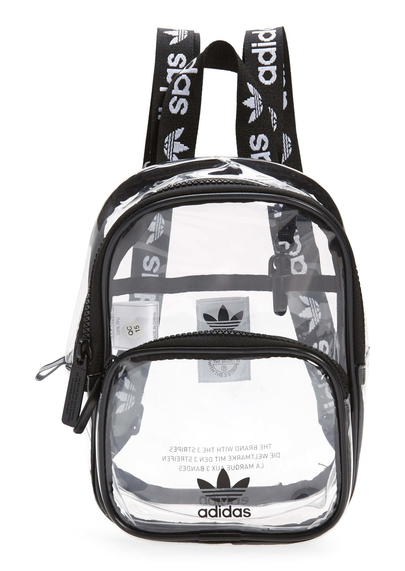 adidas Originals Mini Clear Backpack