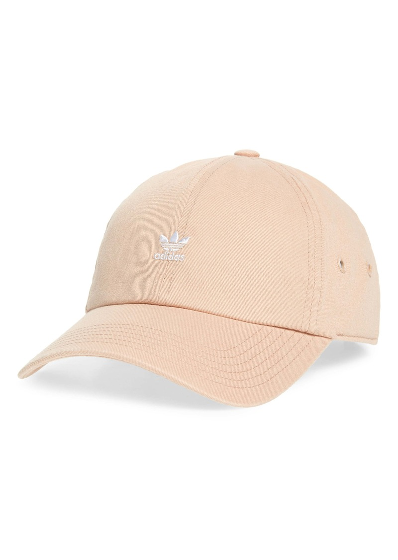 adidas Originals Mini Trefoil Relaxed Strap Back Hat