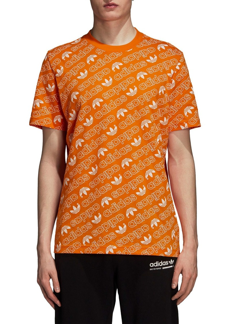 3a91c009 Adidas adidas Originals Monogram Allover Print T-Shirt Now $17.49